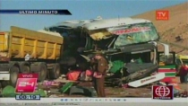 Lista de fallecidos del accidente de bus Ormeño - Noticias de accidente de bus